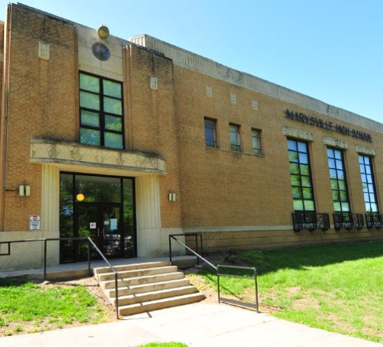 Homer Hansen Stadium_ Marysville School