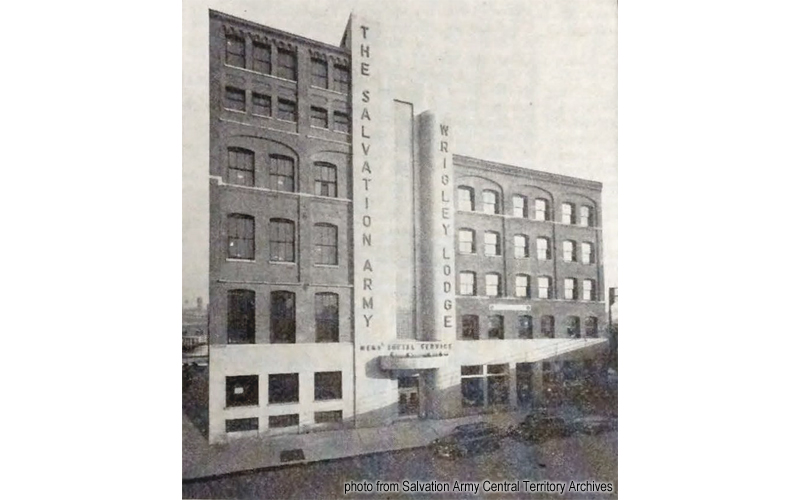 Wrigley Lodge historic